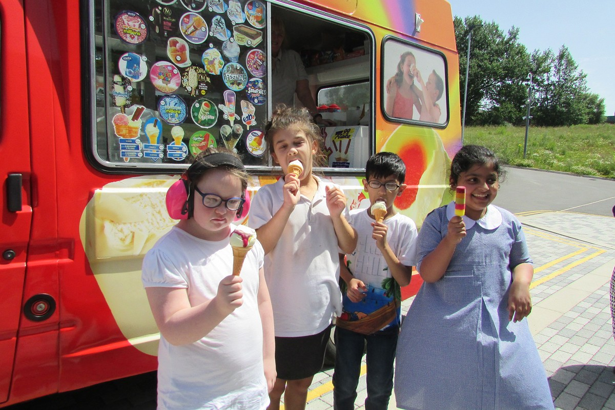 Ice Cream Van Visit 2019