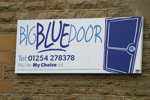 Big Blue Door logo