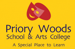 Priory Woods logo