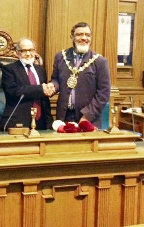 Governor honoured by BwD Mayor