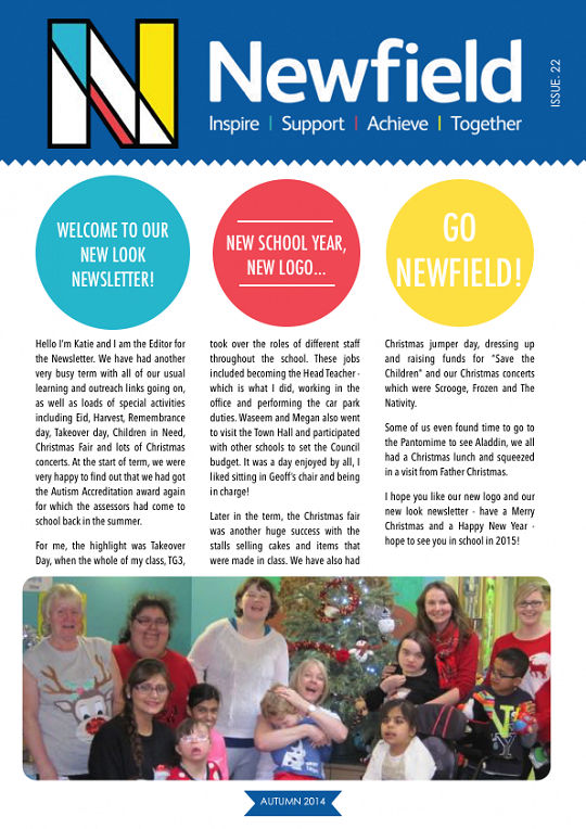 Newfield Newsletter Autumn 2014