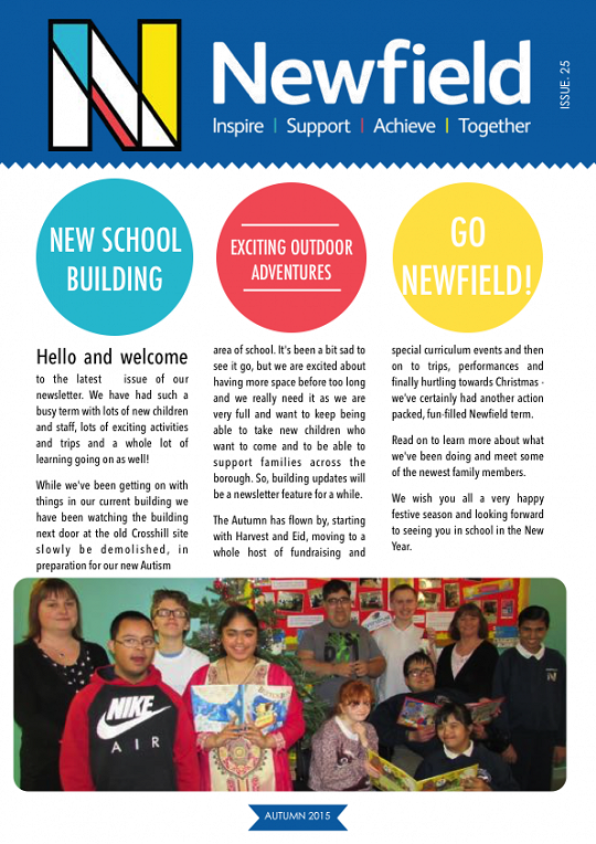 Newfield Newsletter Autumn 2015
