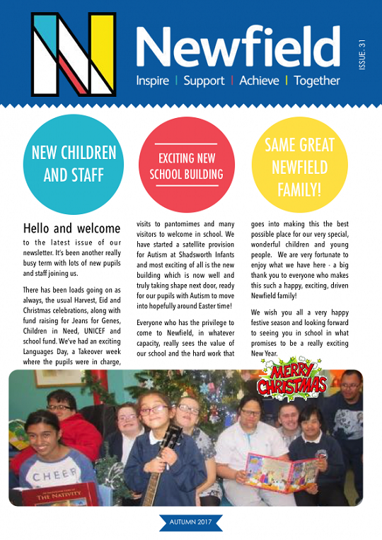 Newfield Newsletter Autumn 2017