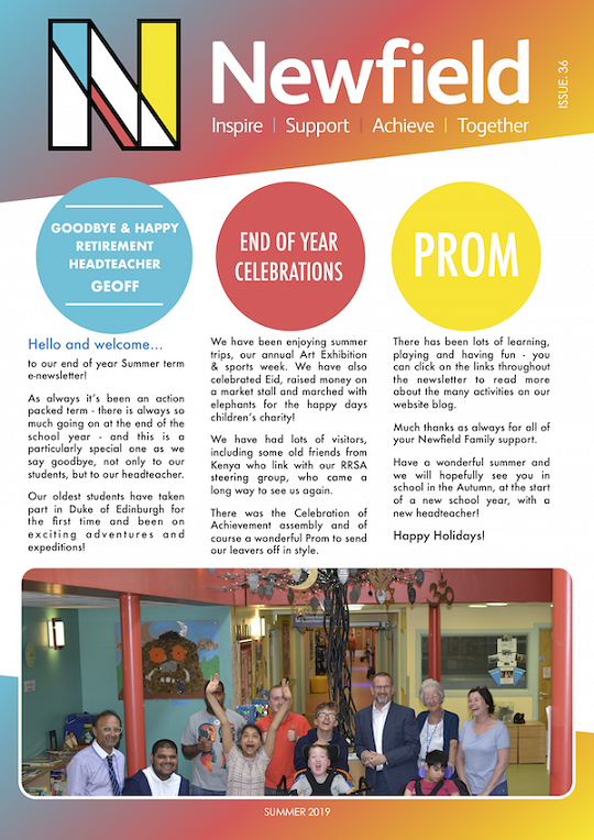 Newfield Newsletter Summer 2019