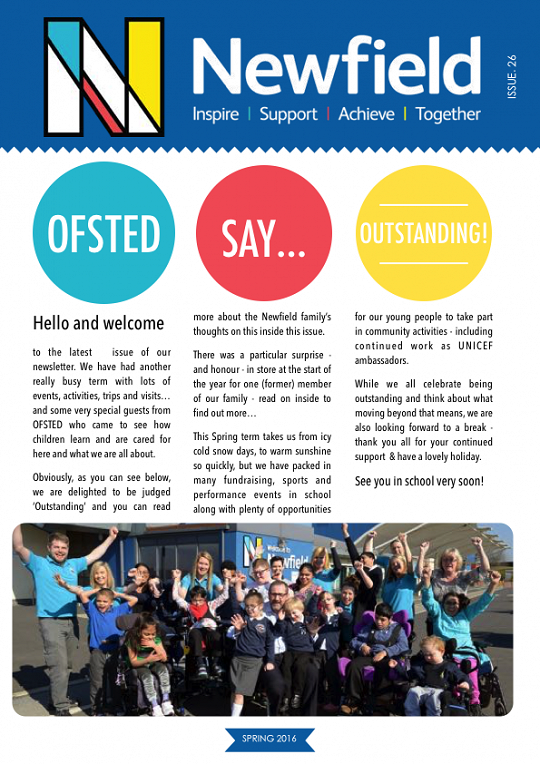 Newfield Newsletter Spring 2016