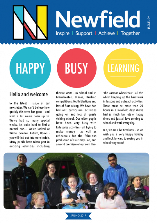 Newfield Newsletter Spring 2017